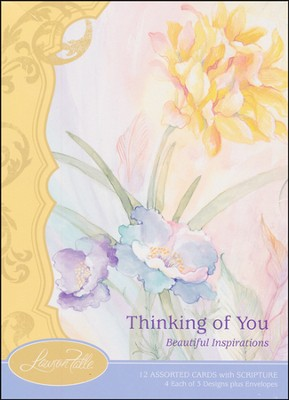 Beautiful Inspirations Thinking of You, Box of 12  -