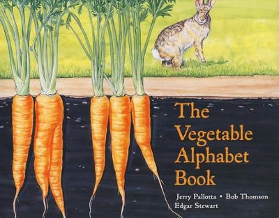 The Vegetable Alphabet Book   -     By: Jerry Pallotta