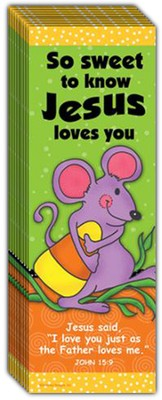 So Sweet Bookmark, Pack of 10  -