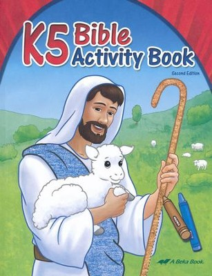 K5 Bible Activity Book   -