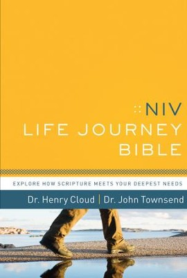 NIV Life Journey Bible: Explore How Scripture Meets Your Deepest Needs / Unabridged - eBook  -     By: Dr. Henry Cloud, John Townsend