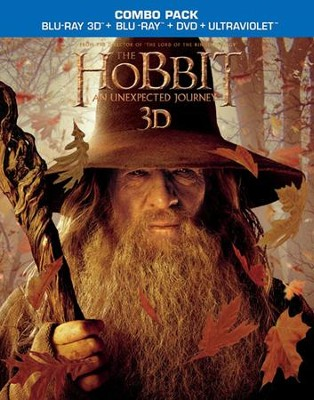 The Hobbit: An Unexpected Journey, 3D Blu-ray/DVD Combo   -