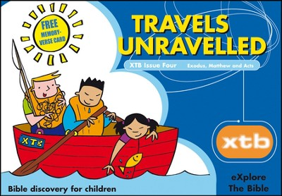 XTB 4: Travels Unraveled  -     By: Alison Mitchell