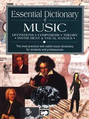 Essential Dictionary of Music   -     By: Lindsey Harnsberger