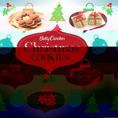 Betty Crocker Christmas Cookies  -