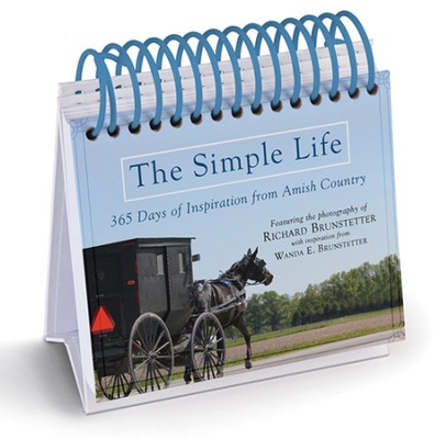 The Simple Life Perpetual Calendar  -     By: Wanda E. Brunstetter, Richard Brunstetter