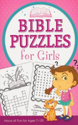 Bible Puzzles for Girls: Hours of Fun for Ages 7-10!   -