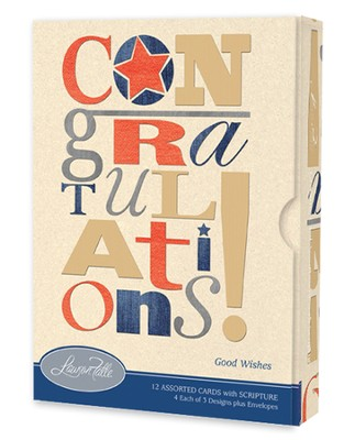 Good Wishes, Congratulations Card Assortment, Box of 12  -
