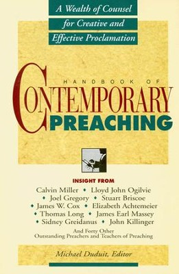 Handbook of Contemporary Preaching - eBook  -     By: Michael Duduit