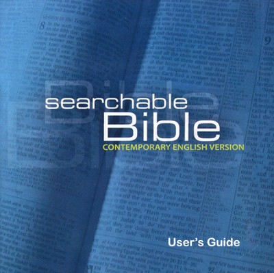 CEV Searchable Bible on CD-ROM  -