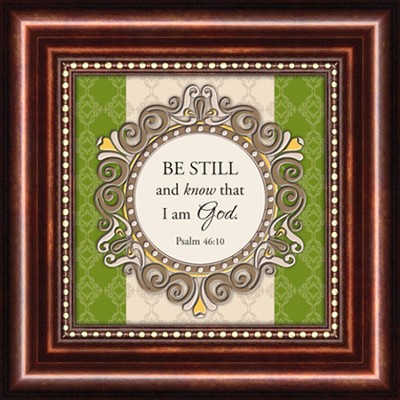 Be Still, Psalm 46:10, Mini Framed Print  -