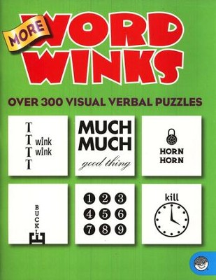 More Word Winks: Over 300 Visual Verbal Puzzles   -