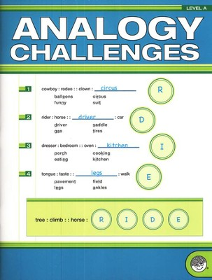 Analogy Challenges, Level A--Grades 3 to 5   -