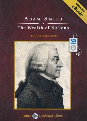 The Wealth of Nations, Unabridged Audiobook on MP3 with eBook  -     By: Adam Smith