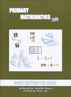 Singapore Math Primary Math Home Instructor's Guide 5B   -
