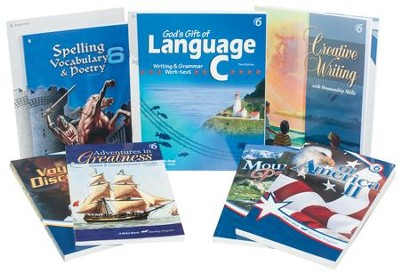 Grade 6 Homeschool Child Language Arts Kit  -
