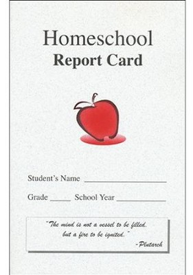 Homeschool Report Card   -