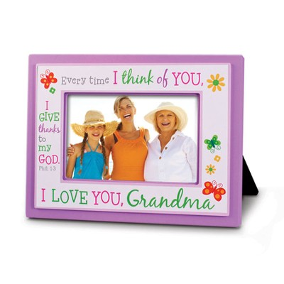I Love You Grandma Photo Frame  -