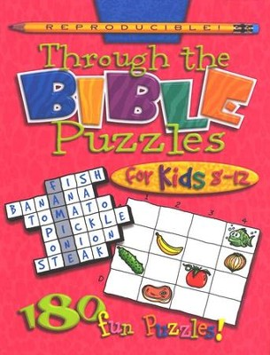 Through the Bible Puzzles, Ages 8-12   -