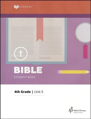 Lifepac Bible Grade 4 Unit 5: God Cares For Us   -
