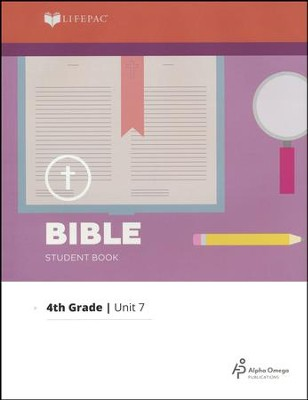Lifepac Bible Grade 4 Unit 7: Old Testament Geography   -