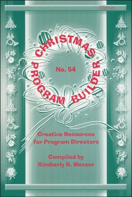Christmas Program Builder No. 54  -