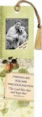 Friends Like You Are Precious Photo Bookmark  -