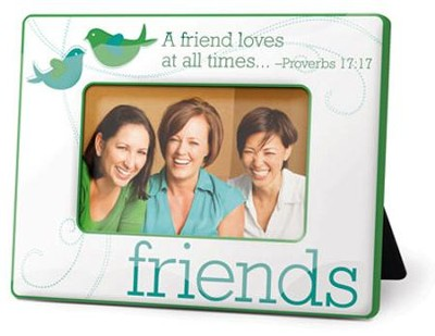 Friends Photo Frame, Proverbs 17:17  -