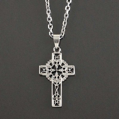 Celtic Cross Pendant, Large  -