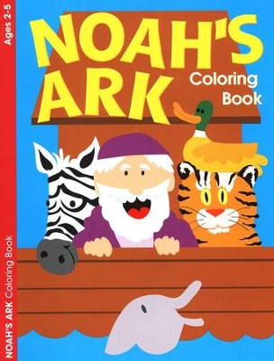 Noah's Ark Coloring Book--Ages 2 to 5   -