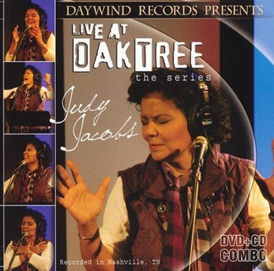 Judy Jacobs Live At Oak Tree DVD/CD   -     By: Judy Jacobs