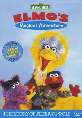 Elmo's Musical Adventure: The Story of Peter and the Wolf  -