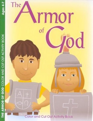 The Armor of God Coloring Book--Ages 2 to 7   -