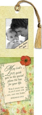 May God's Love Guide You Photo Bookmark  -