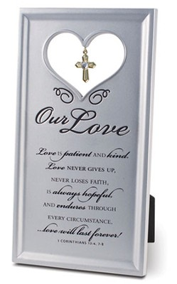 Our Love Plaque  -