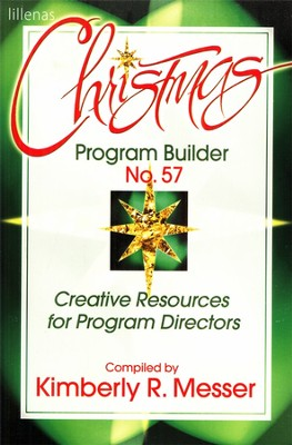 Christmas Program Builder No. 57  -