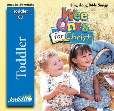 Toddler Sing-Along CD: Wee Ones for Christ   -