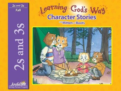 Learning God's Way (ages 2 & 3) Character Stories   -