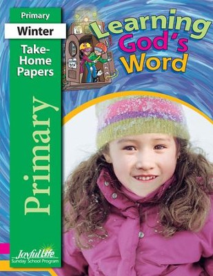 Learning God's Word Primary (Grades 1-2) Take-Home Papers  -