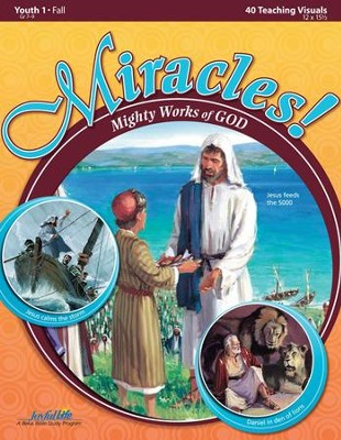 Miracles: Mighty Works of God Youth 1 (Grades 7-9) Teaching Visuals  -