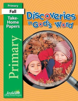 Discoveries in God's Word Primary (Grades 1-2)  Take-Home Papers  -