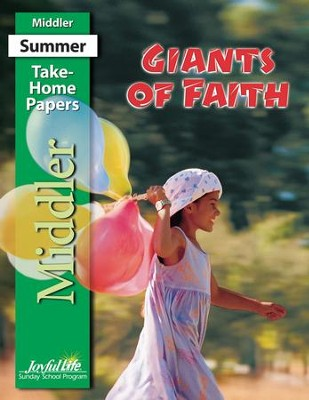 Giants of Faith Middler (Grades 3-4) Take-Home Papers   -