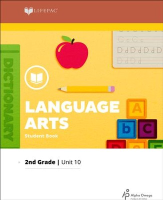 Lifepac Language Arts Grade 2 Unit 10: Looking Back   -