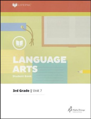 Lifepac Language Arts Grade 3 Unit 7: Reading and Writing   -