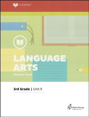 Lifepac Language Arts Grade 3 Unit 9: More Reading and Writing   -