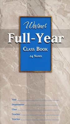 Full Year Class Book (24 names)  -