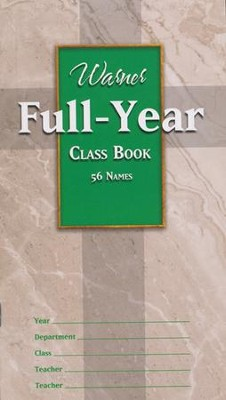 Full Year Class Book (56 names)   -