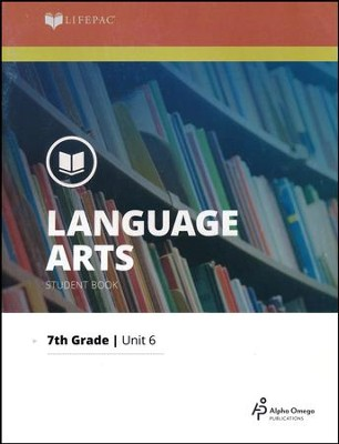 Lifepac Language Arts Grade 7 Unit 6: The Mechanics of English   -
