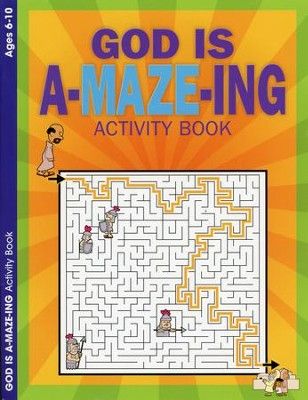 God is A-Maze-ing, Ages 6-10  -