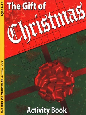 The Gift of Christmas Activity Book (Ages 8-12) - Slightly Imperfect  -